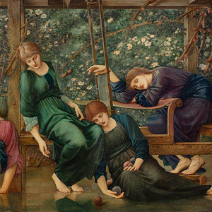 EDWARD BURNE-JONES 'THE GARDEN COURT': CURATOR'S VIEW